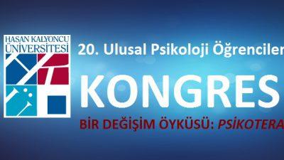 20.Ulusal Psikoloji Öğrencileri Kongresi