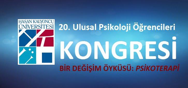 20. Ulusal Psikoloji Öğrencileri Kongresi