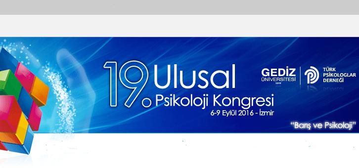 19. Ulusal Psikoloji Kongresi