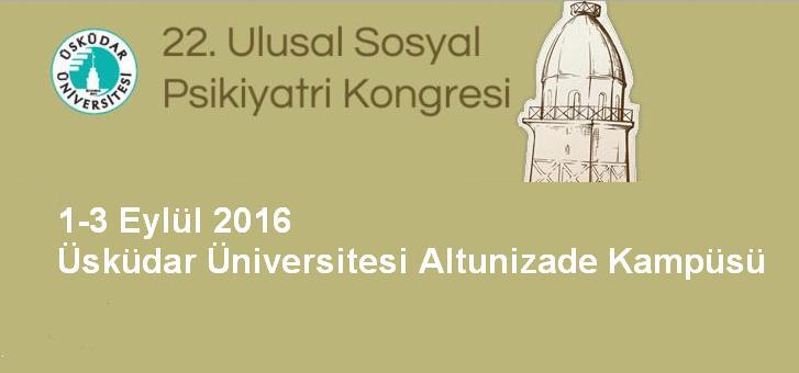 22. Ulusal Sosyal Psikiyatri Kongresi