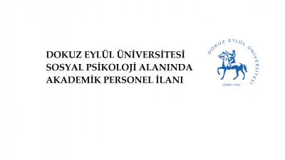 Dokuz Eylül Üniversitesi Akademik Personel İlanı