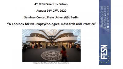 [İPTAL]  FESN 4. Nöropsikoloji Okulu – Berlin