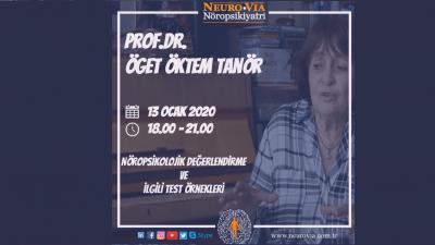[SEMİNER]  Nöropsikolojik Değerlendirme ve İlgili Test Örnekleri