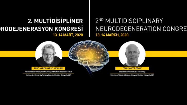 [KONGRE]  2. Multidisipliner Nörodejenerasyon Kongresi