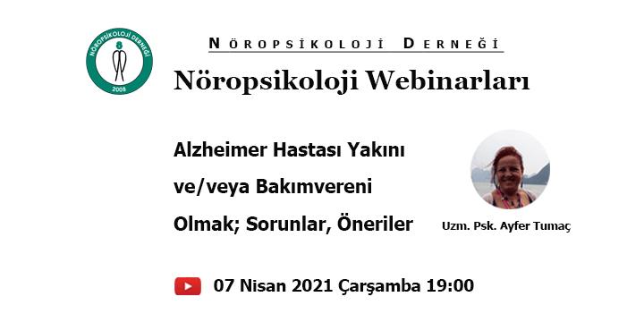 [WEBİNAR]  Nöropsikoloji Webinarları